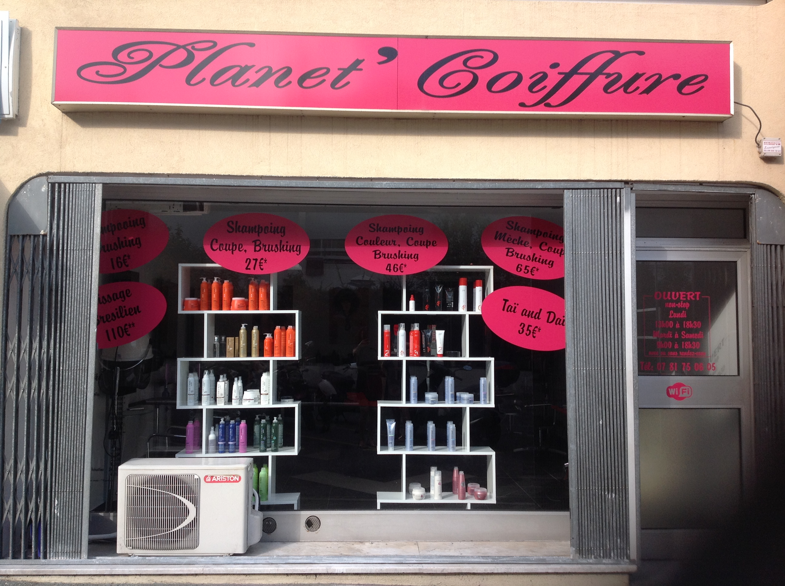 Planet 39 coiffure nice avis tarifs horaires t l phone for Miroir coiffure st augustin