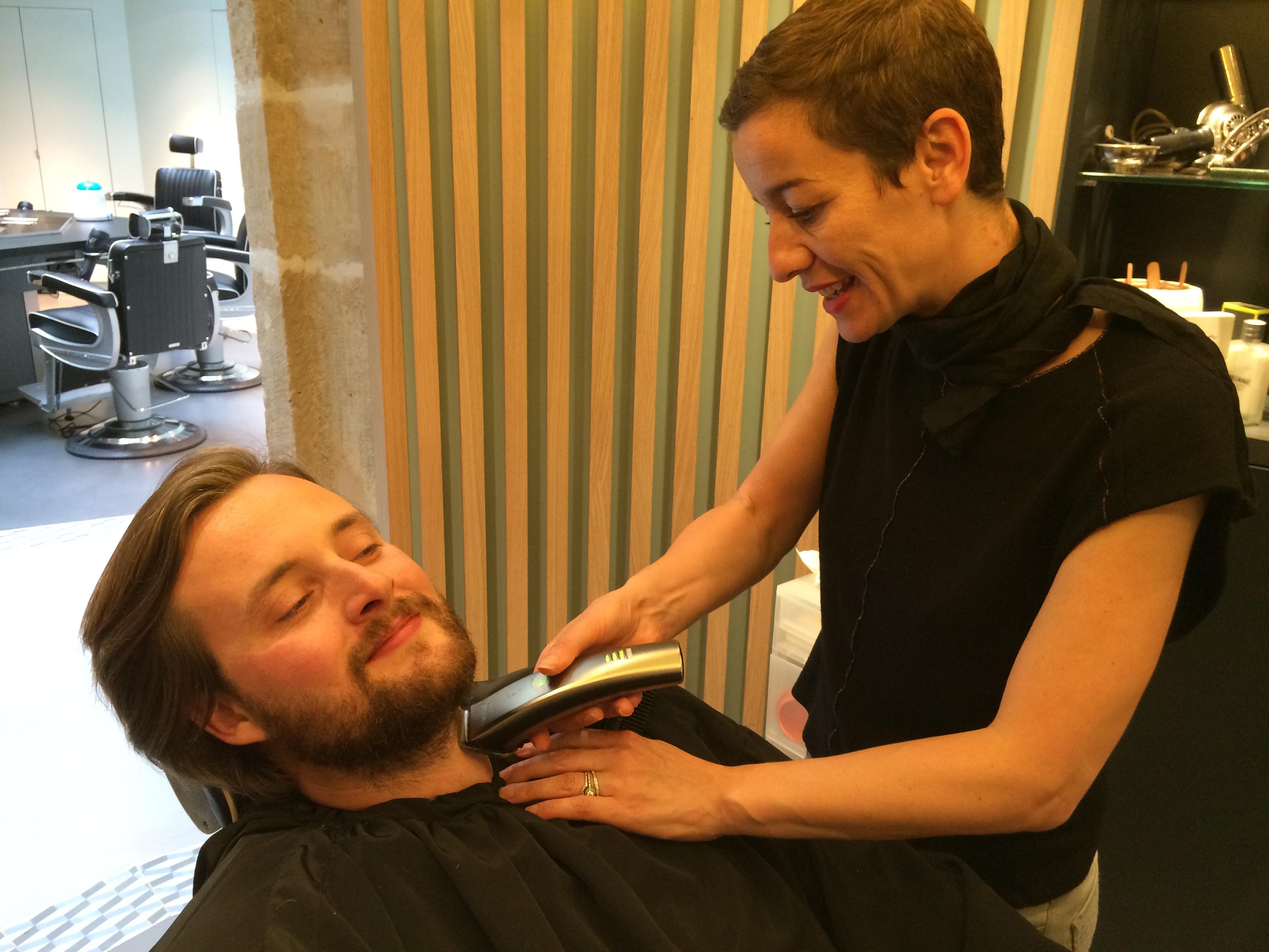 Taille de la barbe La Barbière de Paris
