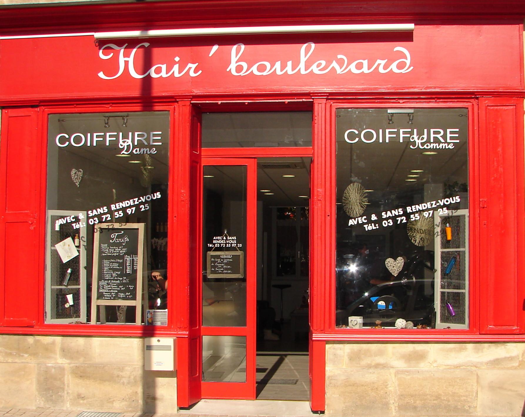 Hair Boulevard à Bar-le-Duc
