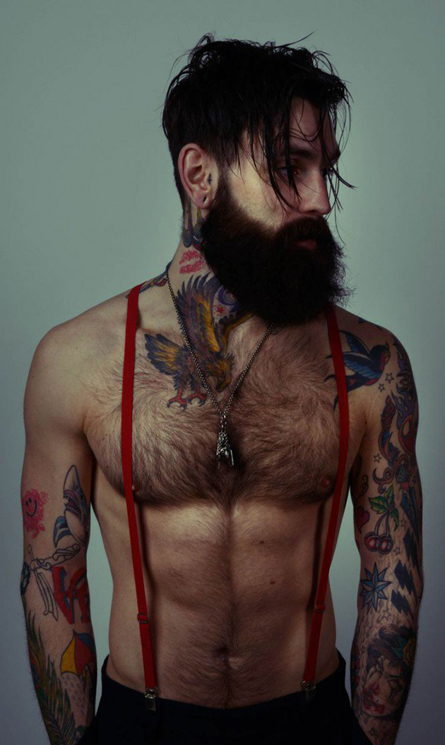 Photo barbu sexy