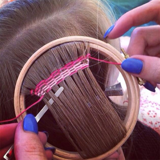 La tapisserie pour cheveux nouvelle tendance coiffure de for Comment enlever de la tapisserie