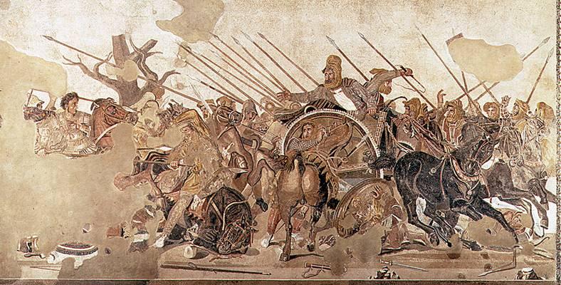 Alexandre le Grand roux