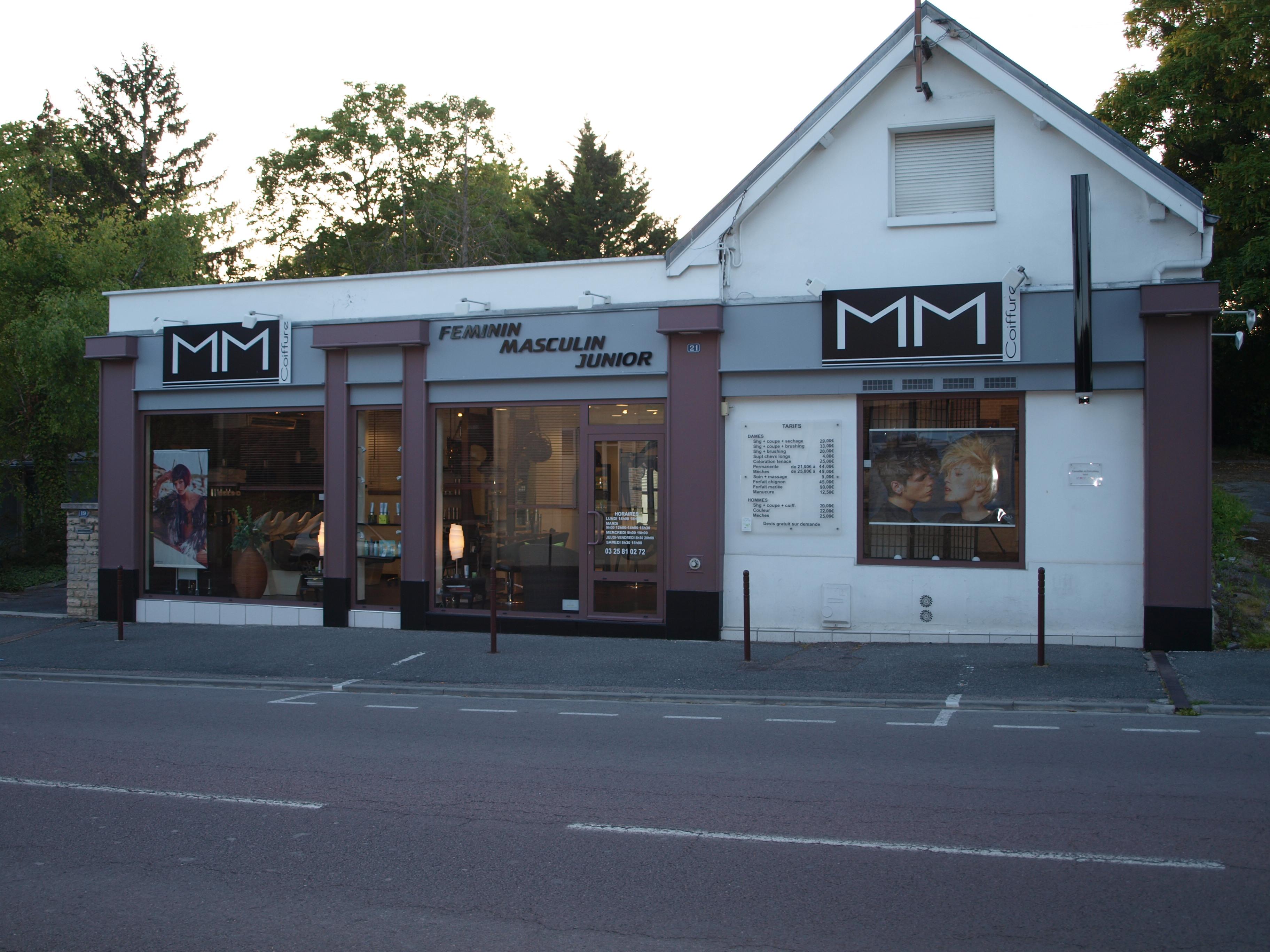 M.M. Coiffure - Pont-Sainte-Marie