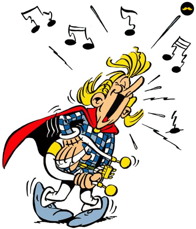 Asterix sans moustache