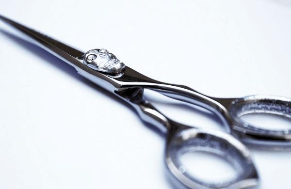 Ciseaux coiffure originaux - cadeau noel coiffeuse