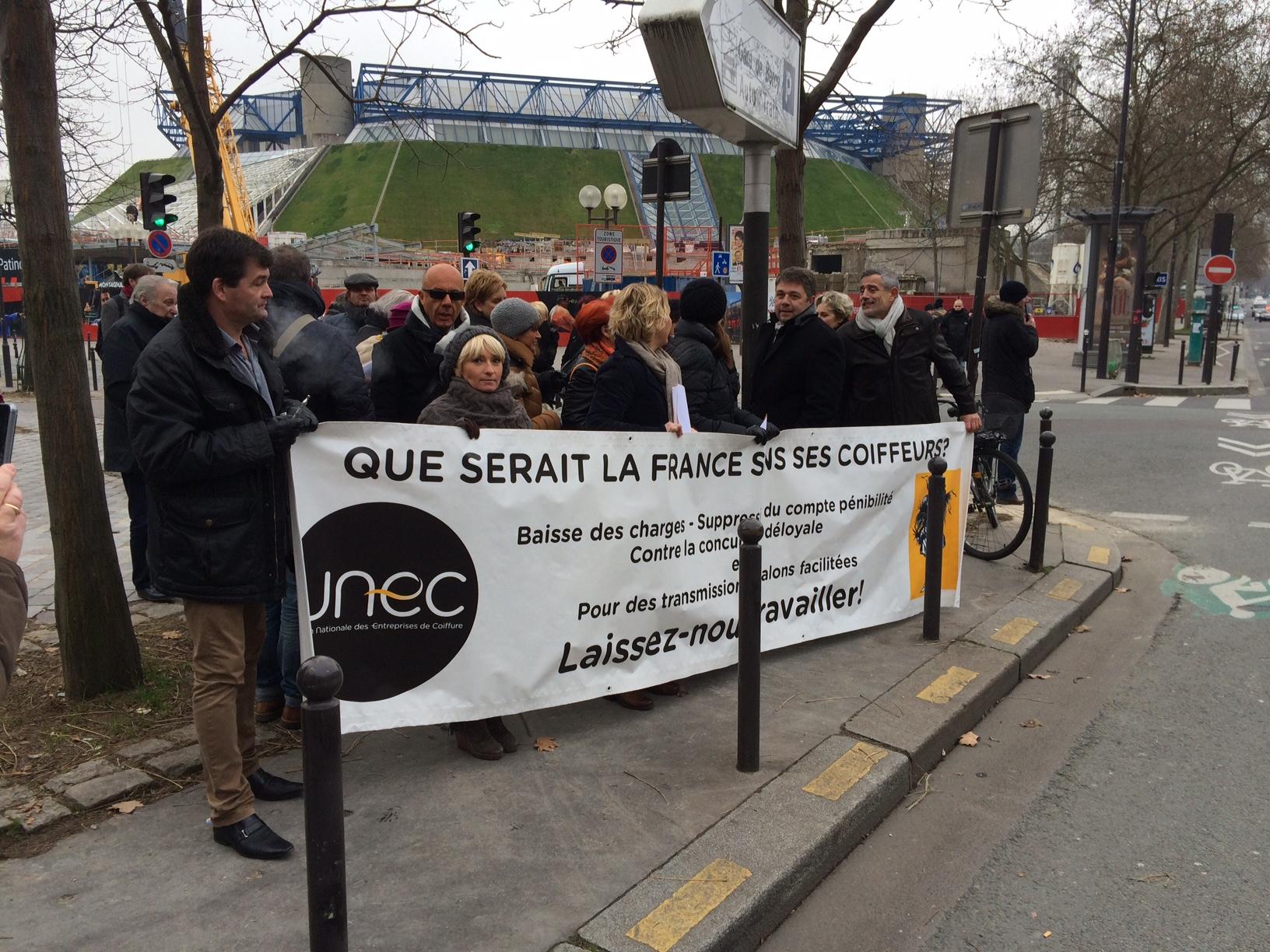 manifestation UNEC