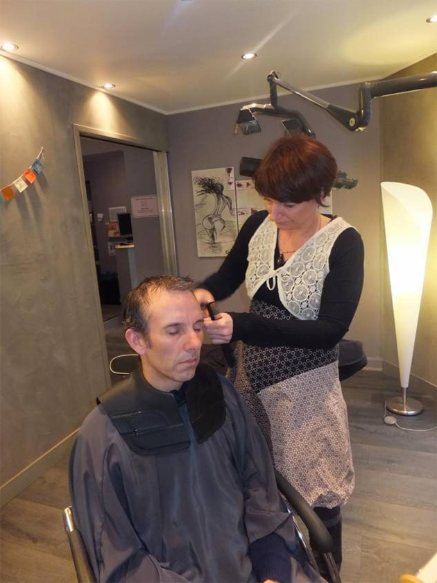 Coupe cheveux acupuncture
