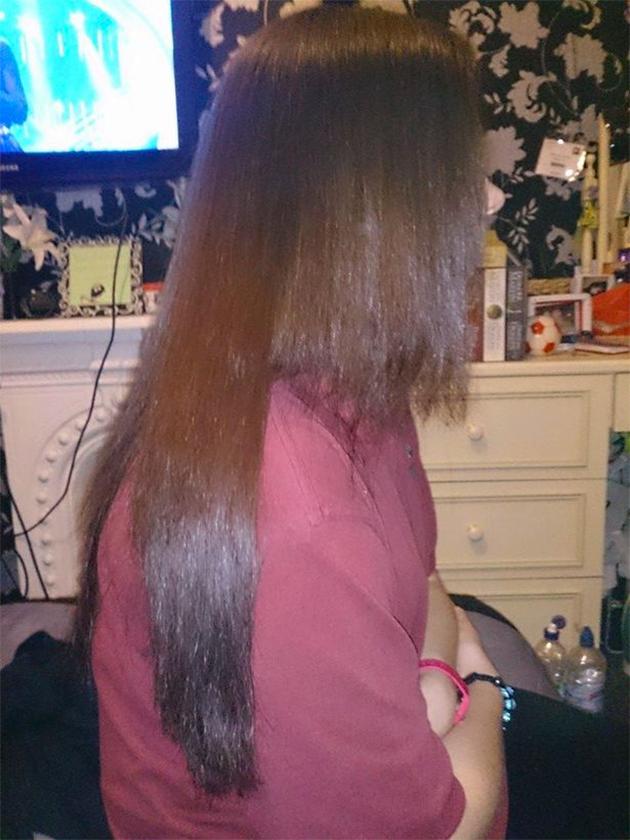 Attaque cheveux