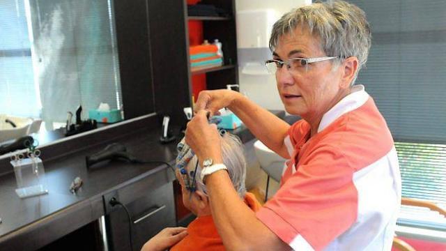Salon de coiffure hôpital