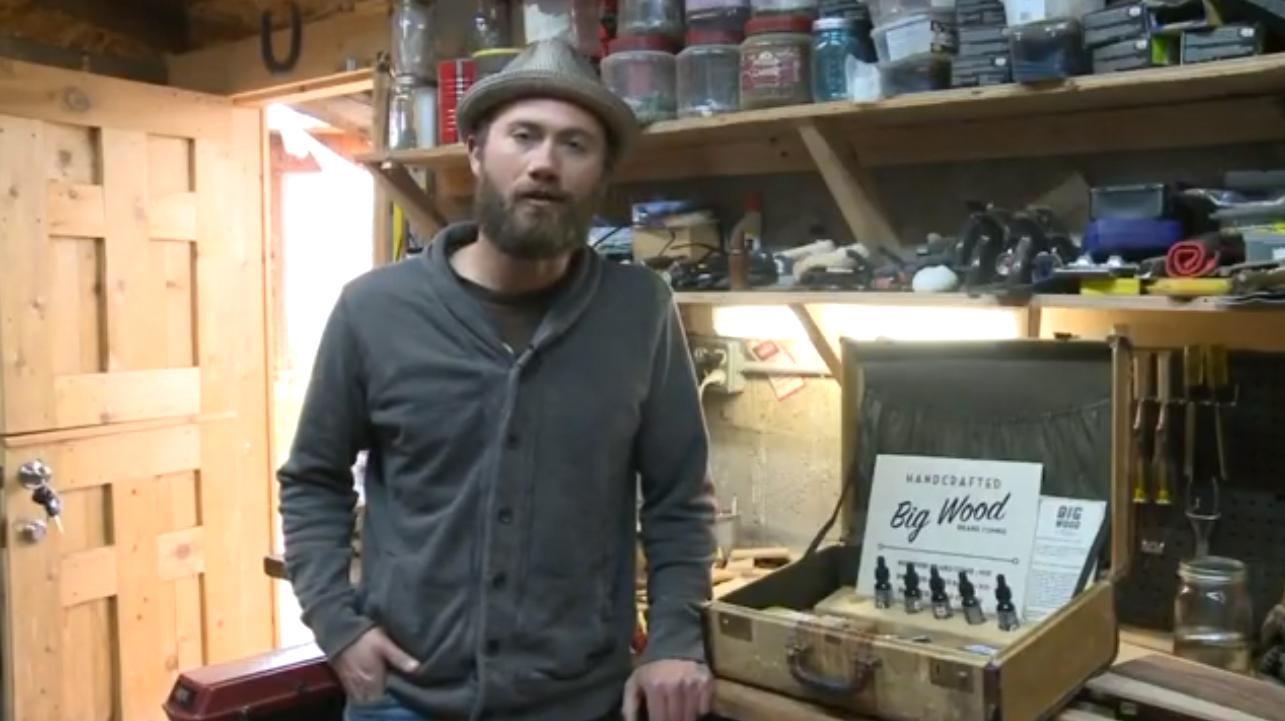 Peignes barbe bois