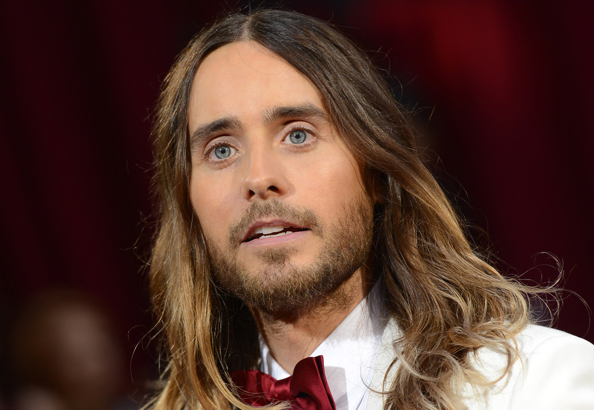 Jared Leto cheveux courts