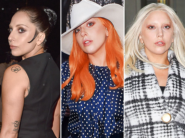 lady gaga coloration fashion week paris - Allergie Coloration Cheveux