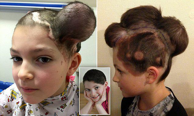 cette coiffure incroyable a permis de sauver la vie de cette fillette de 9 ans coiffure insolite. Black Bedroom Furniture Sets. Home Design Ideas