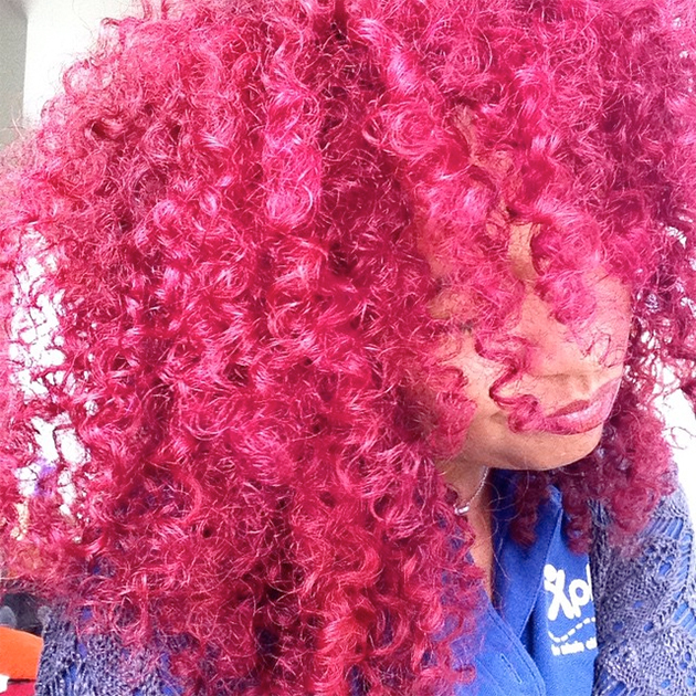 Coloration afro flashy
