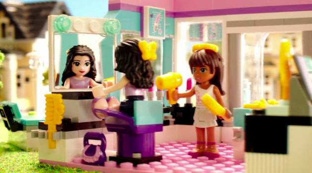 Lego Club coiffure sexisme