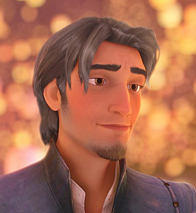 Disney cheveux gris