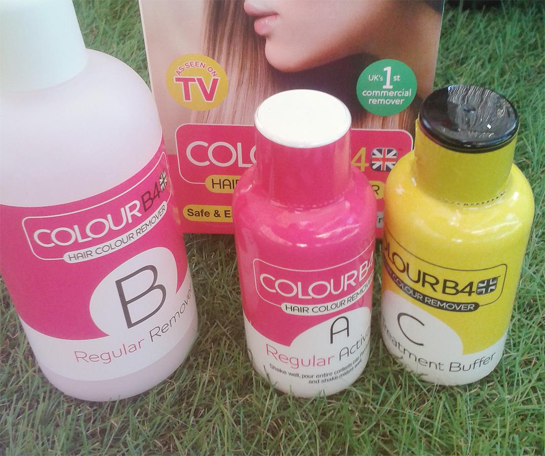 Colour B4 : Retrouvez votre couleur naturelle après une coloration ratée !