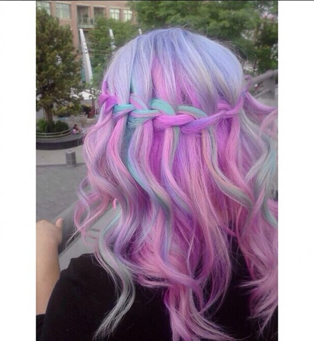 Tie and dye pastel