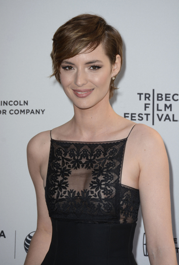 Louise Bourgoin cheveux courts