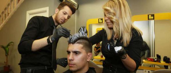Griezmann coupe de cheveux