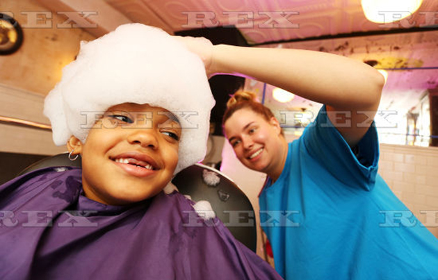 Bubble barber
