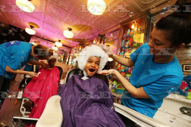 Bubble barber