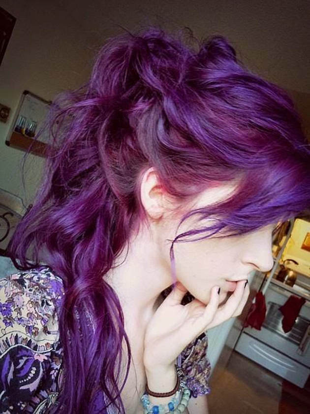 Girls With Light Purple Hair Tumblr 23 photos qui m...