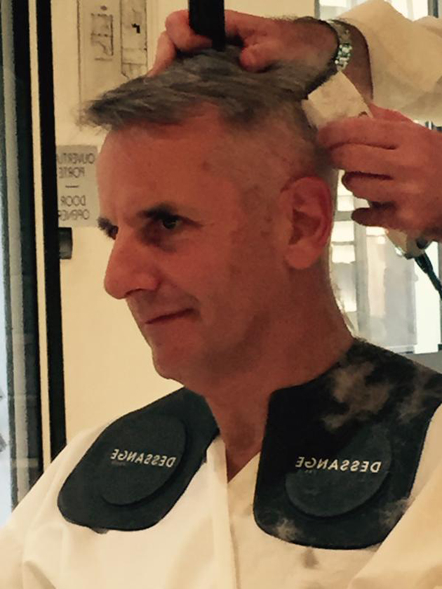 Bernard de la villardière coiffure