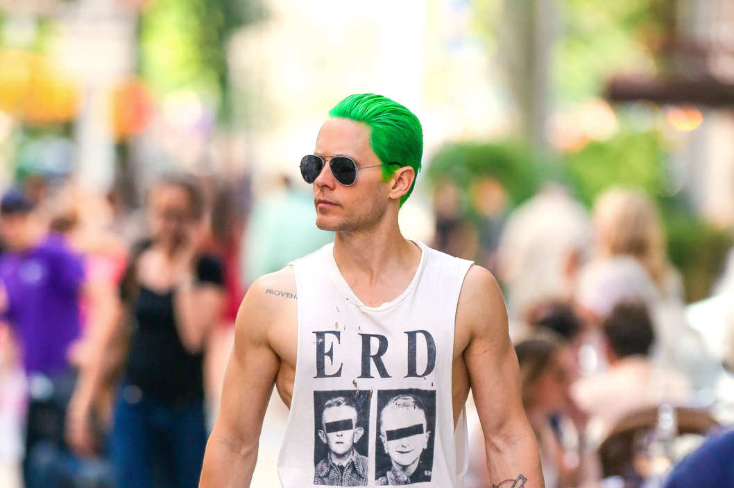 Jared Letto cheveux verts