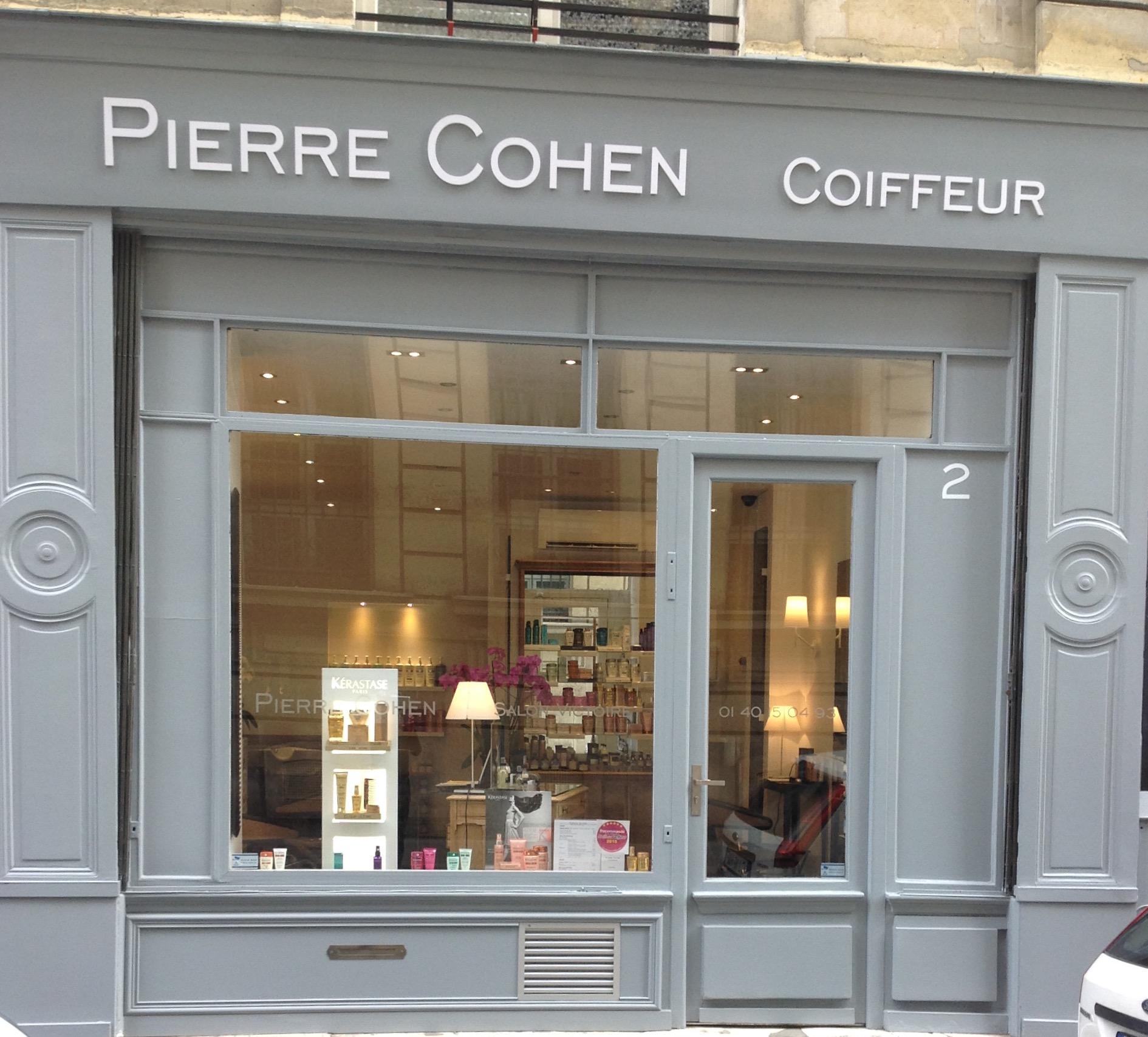 Pierre Cohen coiffeur à Paris 01