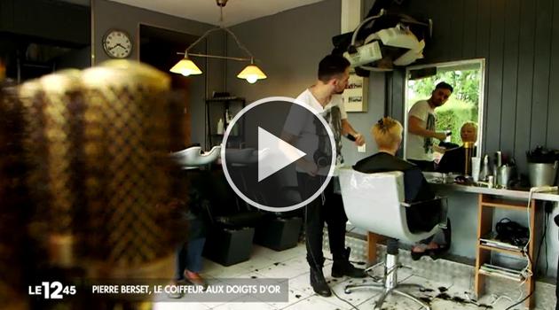 Pierre Berset coiffeur surdoué