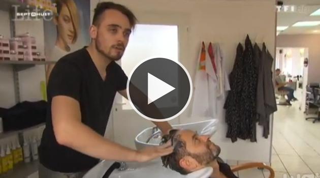 Reportage TF1 : cet électricien qui devient un coiffeur de génie !