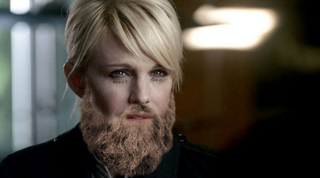 Policier célèbre barbe
