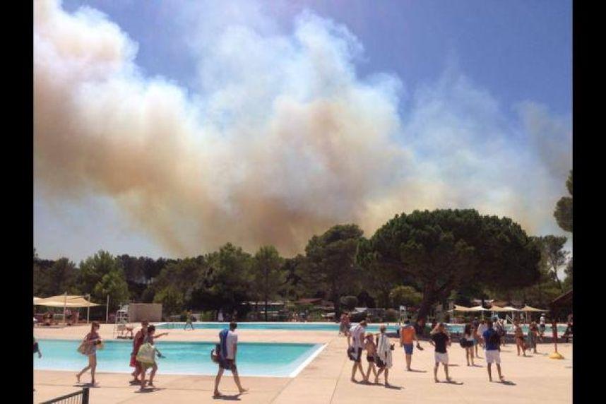 Incendie de Fréjus : le salon de coiffure du domaine du Pin de la Lègue ravagé par les flammes...