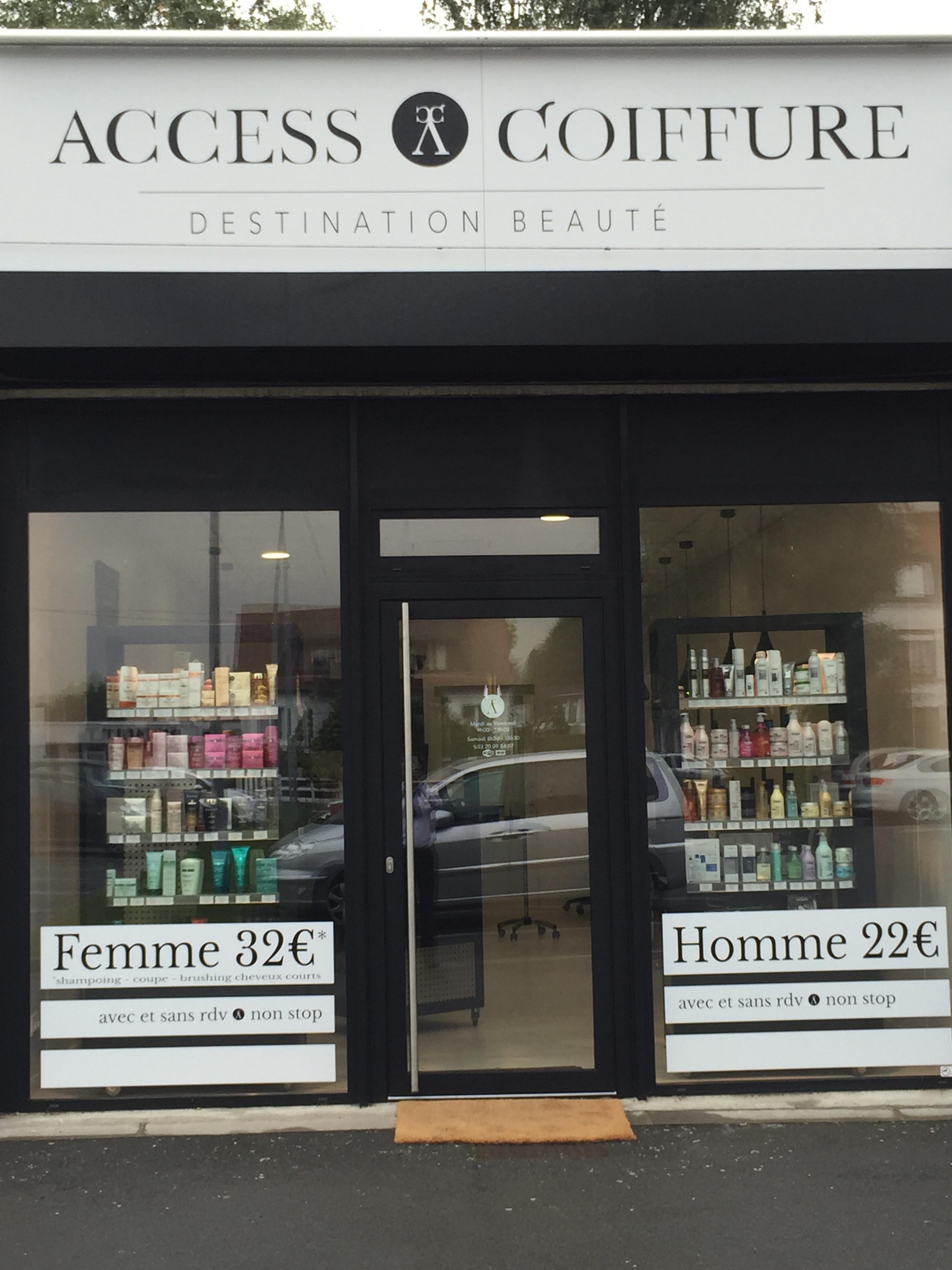 Access coiffure lambersart avis tarifs horaires t l phone for Salon dunkerque