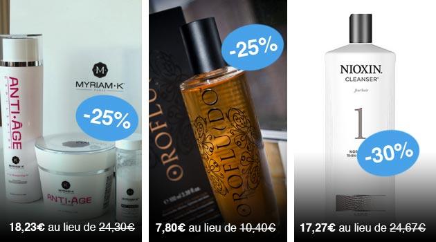Bon plan : Tous vos produits de coiffure à -30%