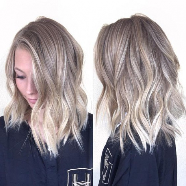 Cheveux mi longs quelle coupe adopter en 2016 16 photos trend zone - Coupe mi longue blonde ...