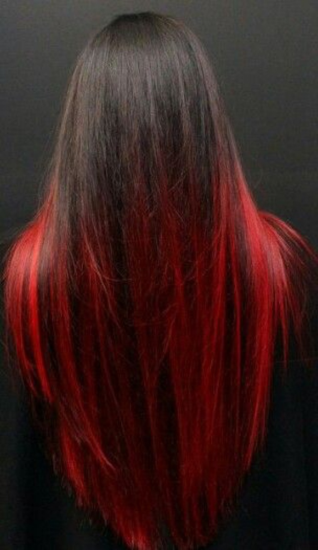 Ombr 233 Hair Rouge Sur Base Brune 19 Raisons D Y