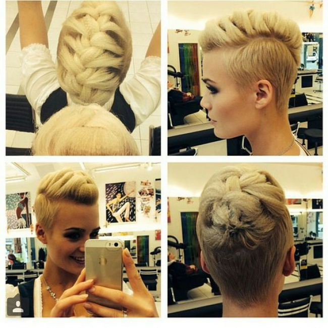 34 Photos De Undercut Absolument Incroyables Coupe De
