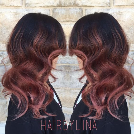 Super Ombré hair sur une base brune : 54 photos absolument hallucinantes  PF36