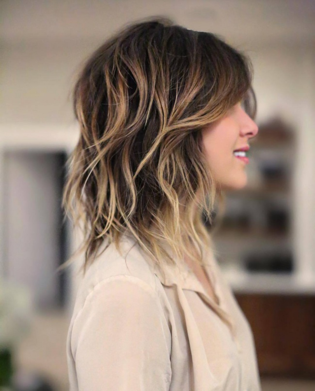 Ombr hair sur cheveux mi longs 33 photos absolument hallucinantes coupe de cheveux - Coupe ombre hair ...